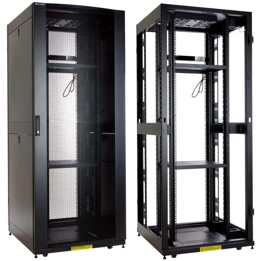 """Szafa Rack 19"""" 42U 800x1000 Linkbasic NCI42-810-KLA-C - stojąca"""