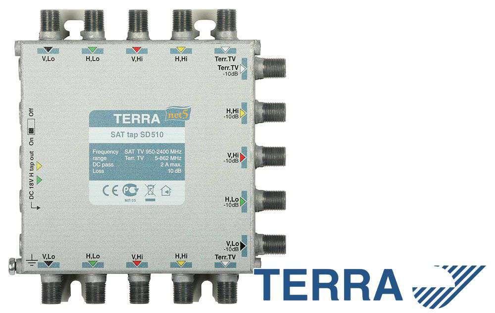 RTV-SAT tap SD510 Terra