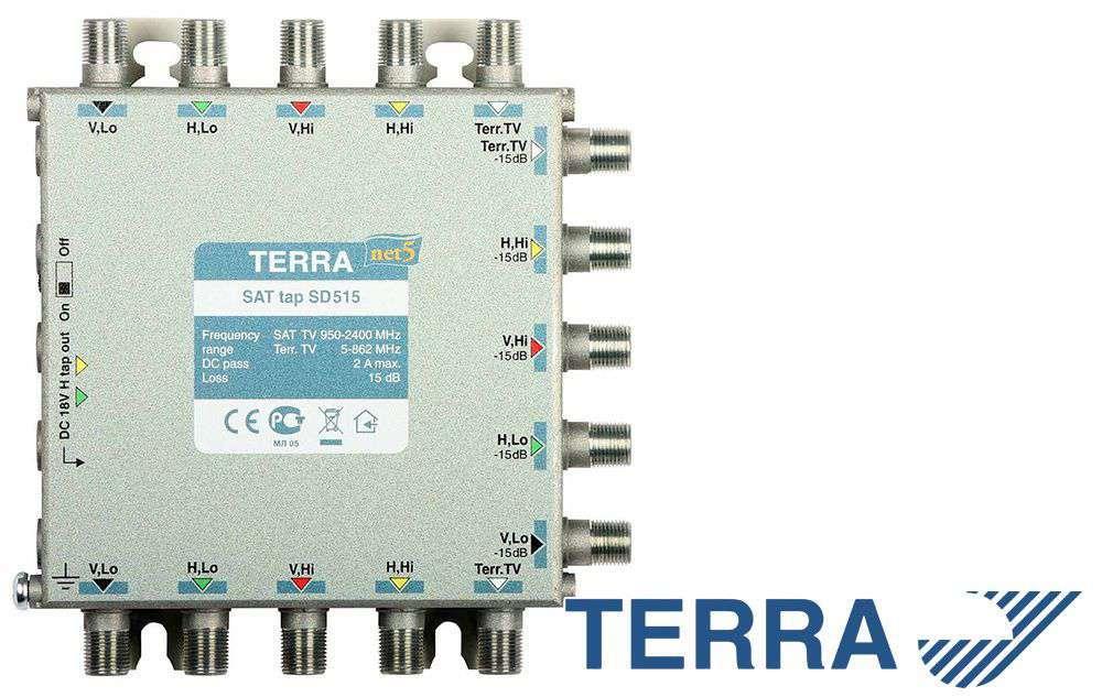 RTV-SAT tap SD515 Terra