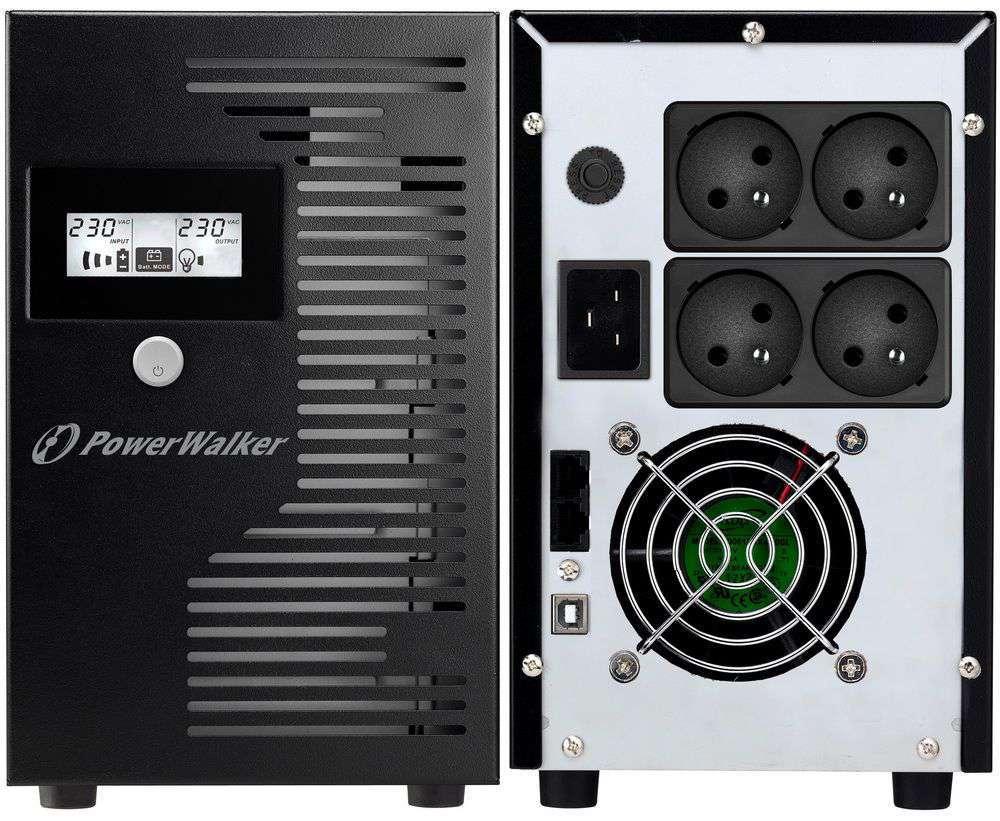 Zasilacz UPS awaryjny 3000VA/1800W VI 3000 LCD FR PowerWalker