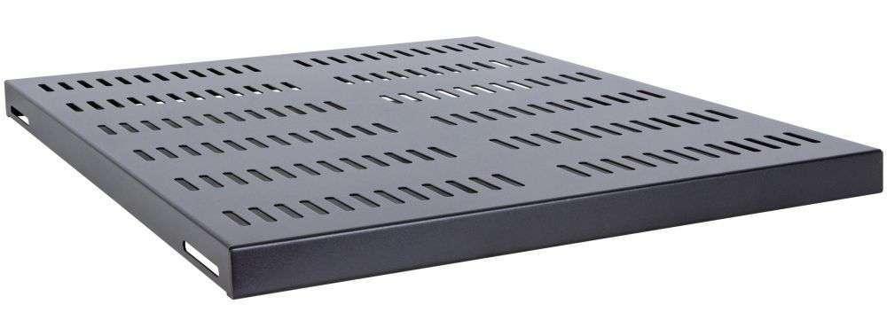 Stała półka głębokości 620mm CFB100-1.5-A-NCF LINKBASIC czarna RAL9004