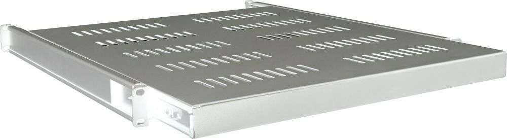 1U / 550mm - Wysuwana półka RACK 19'' CFD80-B LINKBASIC szara RAL7044