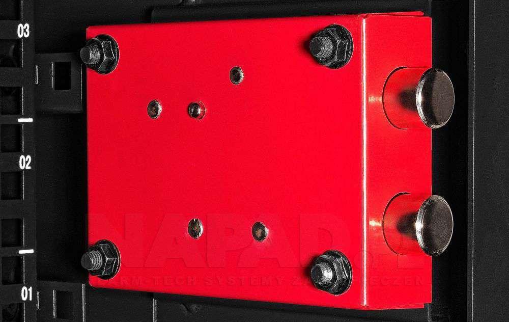 Zamek szafy W5409DZ RACK SYSTEMS