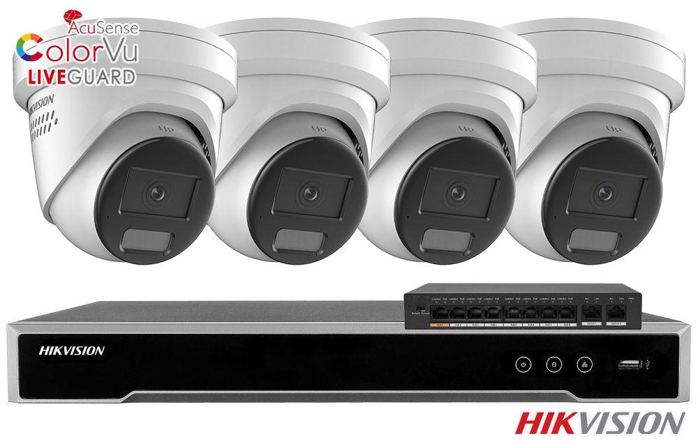 Zestaw do monitoringu IP ZMIP-HIK4KD40/IR30 (4MPX) HikVision