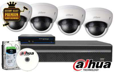 Zestaw do monitoringu IP fhd ZMIP-DAH4KD80
