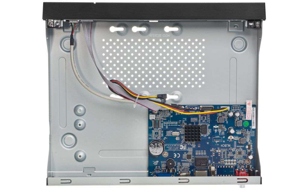 Wnętrze rejestratora PX-NVR0881H