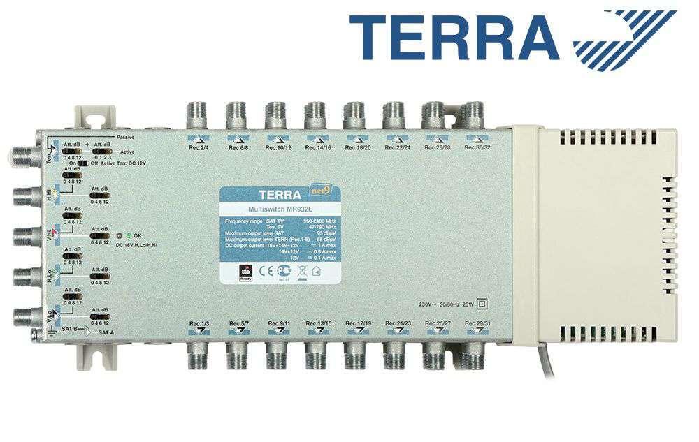 Multiprzełącznik Terra MR-932L
