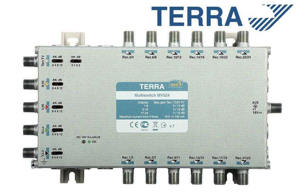 Multiprzełącznik Terra MV-524