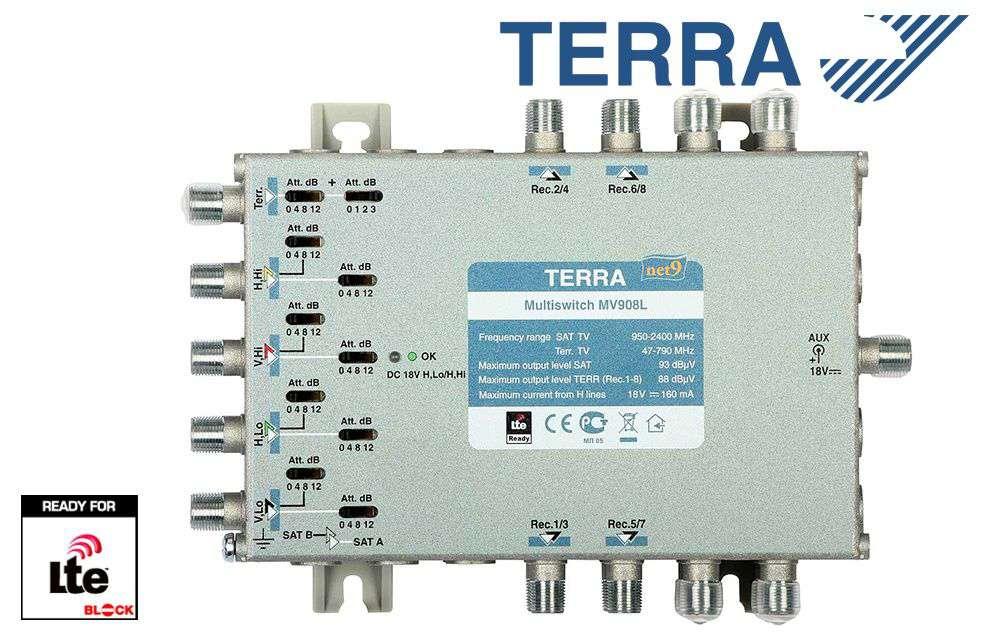 Multiprzełącznik Terra MV-908L
