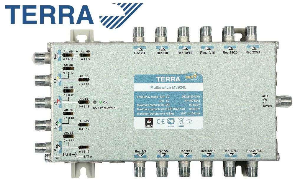 Multiprzełącznik Terra MV-924L