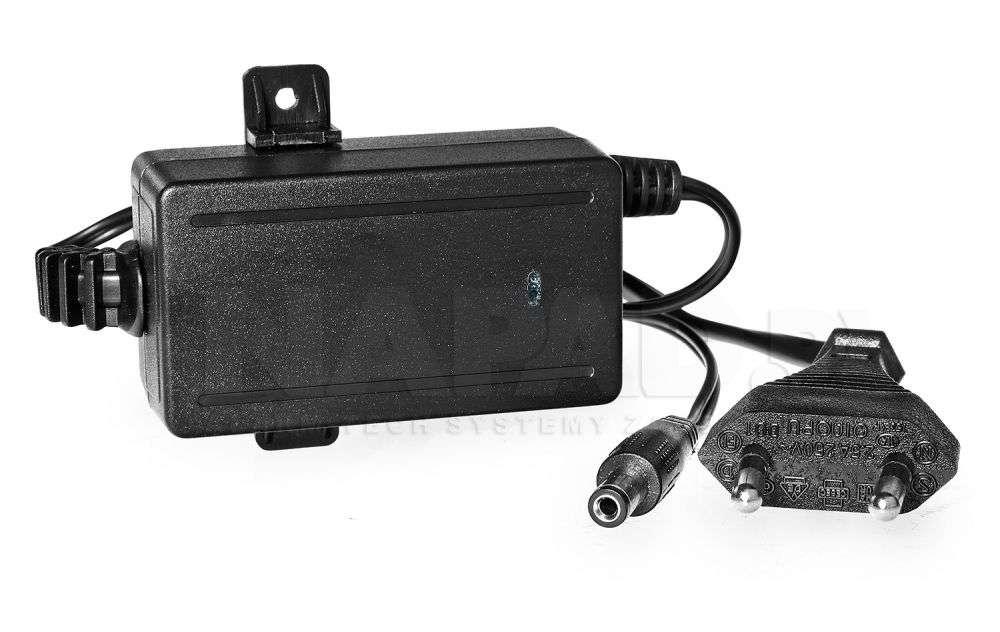 Zasilacz impulsowy 1A / 12V stabilizowany do kamer CCTV Pulsar