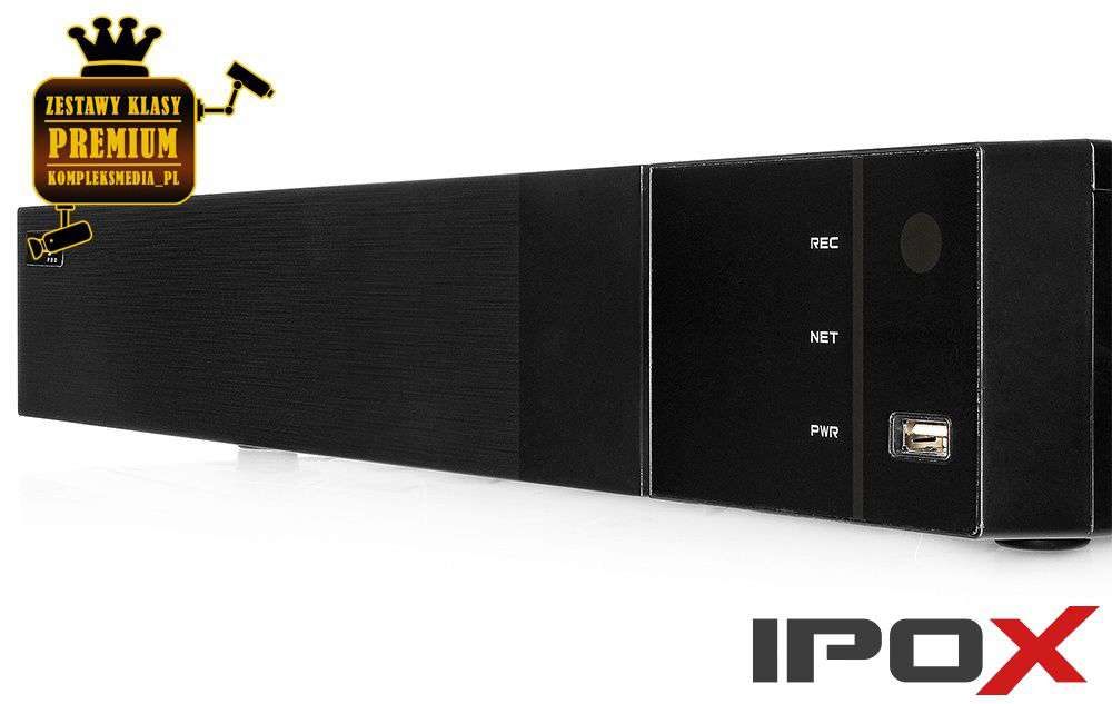 Rejestrator cyfrowy IPOX PX-NVR3284H