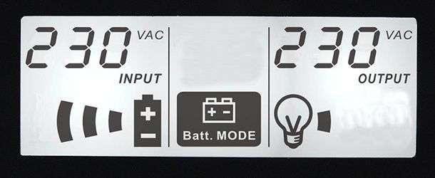 PowerWalker VI 800 SW wyświetlacz