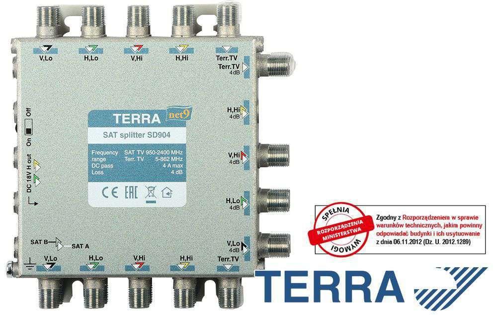 ROZGAŁĘŹNIK TERRA SD-904