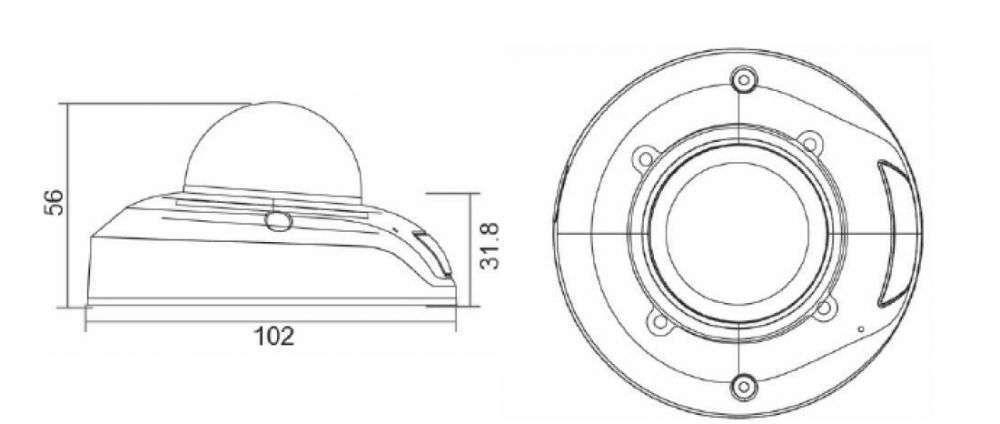 wymiary kamer ipox px-dmi2028ams-ir940