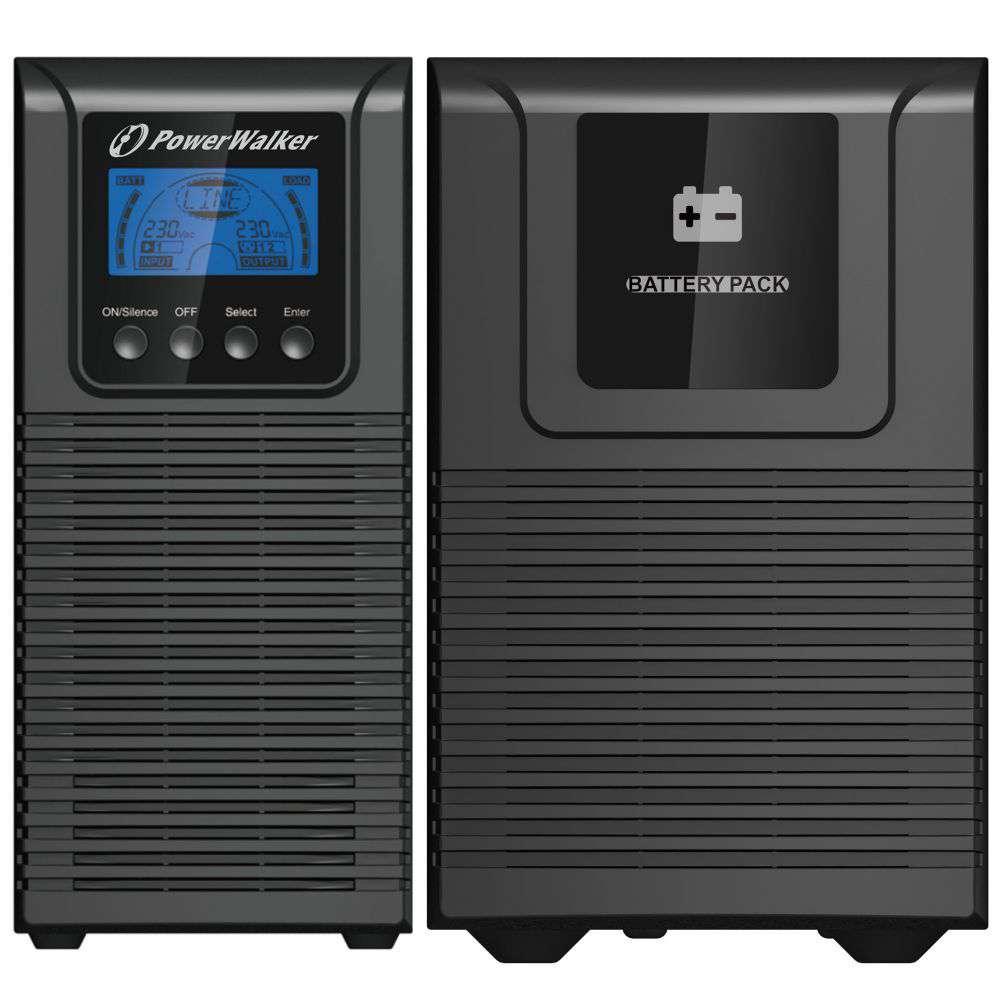 2w1 Zestaw zasilania awaryjnego UPS VFI 1000 TGS + BP S24T-6x9Ah (10134031)