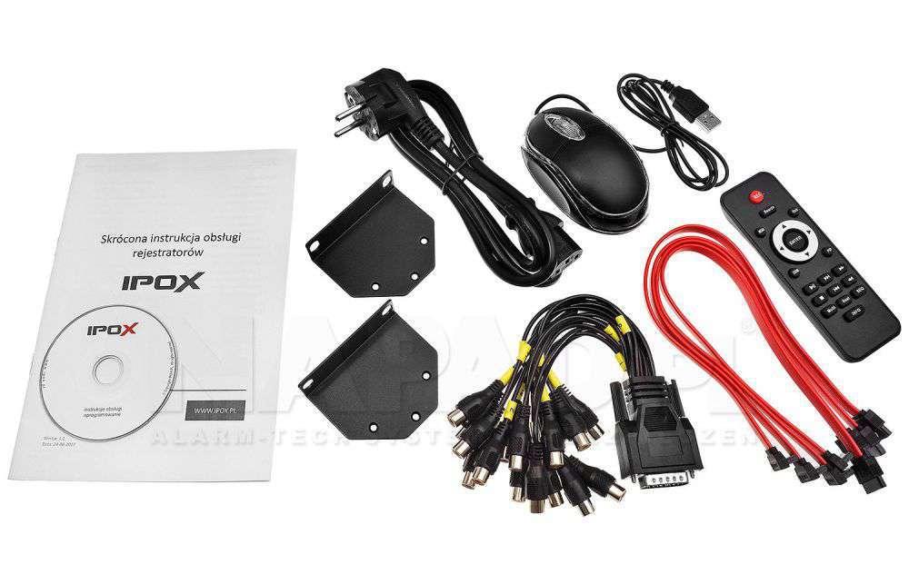 zawartość opakowania pilot cd instrukcja ipox px-hdr3224h-16a