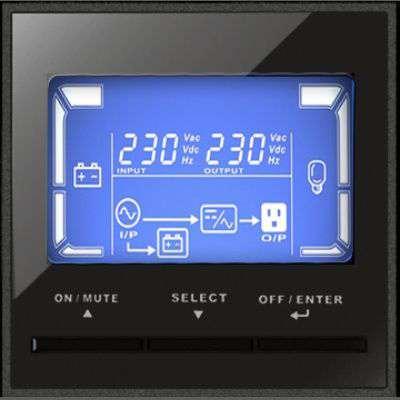 PowerWalker VFI 3000 CRS wyświetlacz LCD