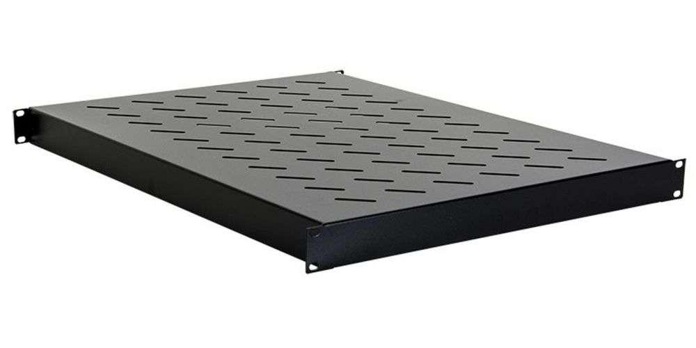 Uniwersalna półka głębokości 600mm CFB100-1.2-A-NCI LINKBASIC czarna RAL9004