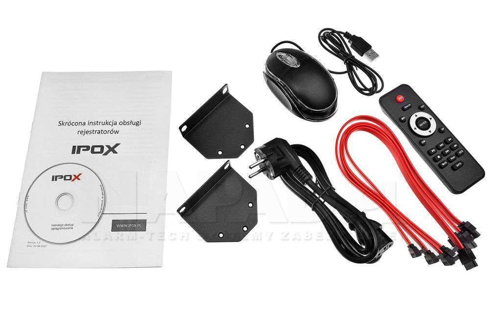 zawartość opakowania pilot cd instrukcja ipox px-hdr1624h-16a