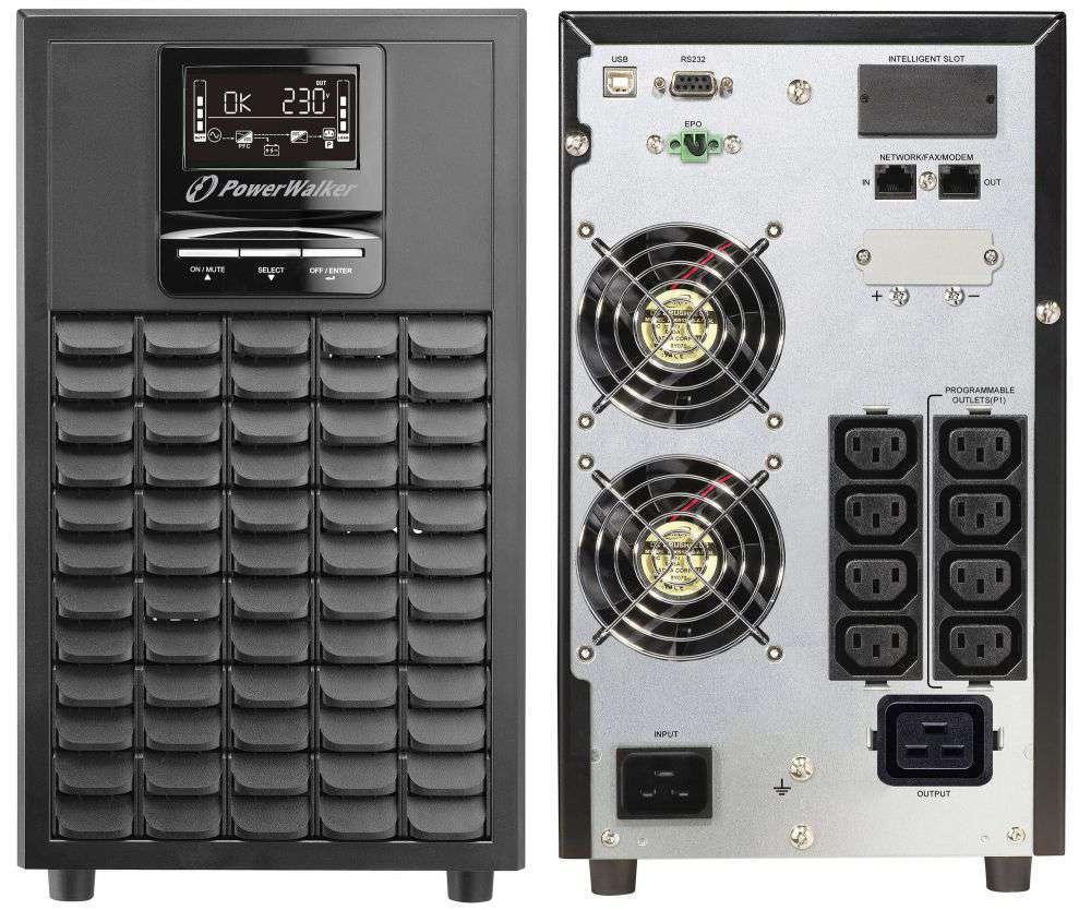 Zasilacz UPS online 3kVA/3kW VFI 3000 CG PF1 PowerWalker