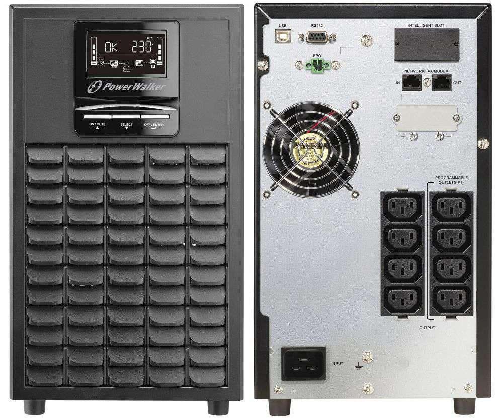 Zasilacz UPS online 2kVA/2kW VFI 2000 CG PF1 PowerWalker