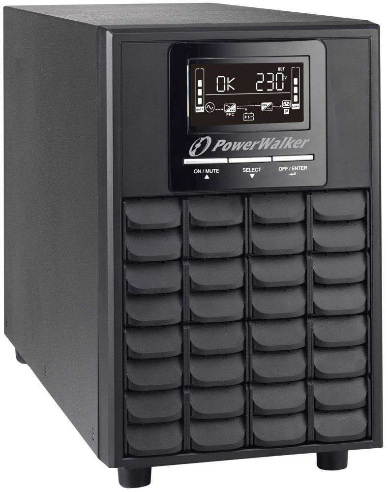 Zasilacz UPS online 1500VA/1500W VFI 1500 CG PF1 PowerWalker