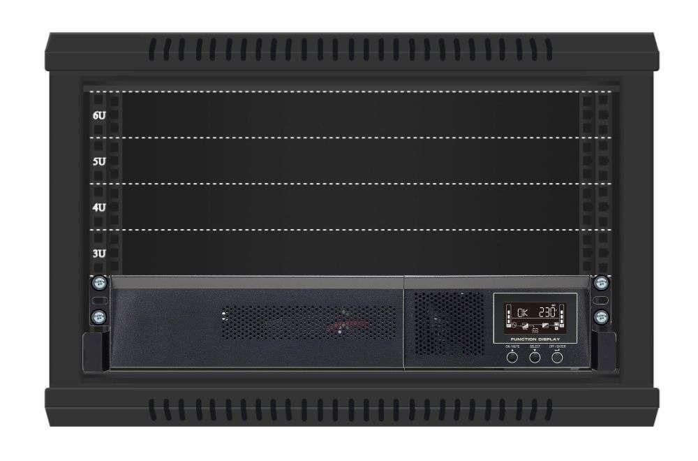 Zasilacz UPS Rack 1000VA/1000W VFI 1000 RMG PF1 PowerWalker