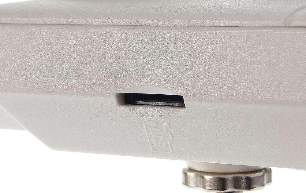 slot na kartę microsd w kamerach marki ipox