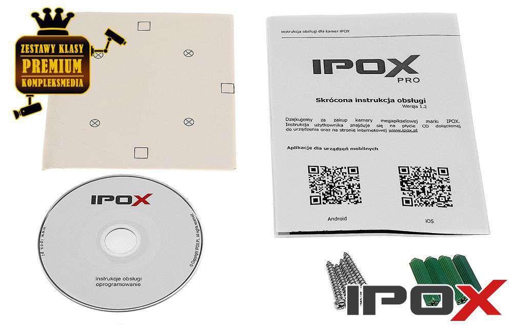 zawartość opakowania ipox pro px-di2036-p/w