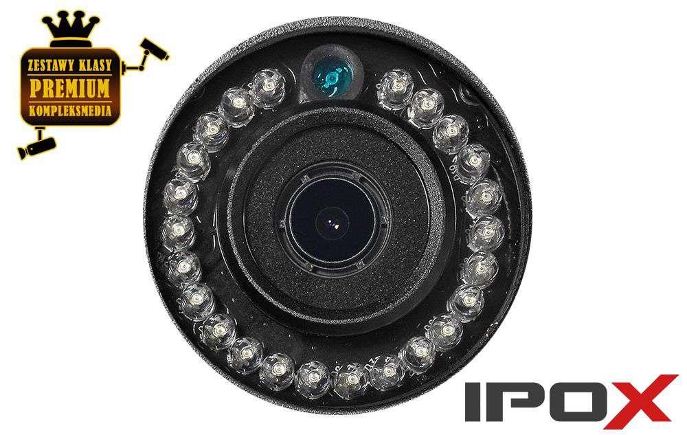 30 diod IR LED (zasięg 25m)