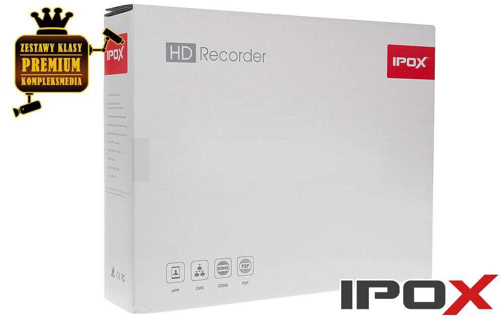 zawartość opakowania pilot cd instrukcja ipox px-hdr0821h-e