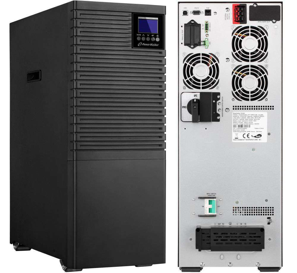 Zasilacz UPS online 10kVA/10kW VFI 10000 TGB PF1 PowerWalker