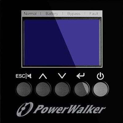 PowerWalker VFI 10000 TGB PF1 wyświetlacz LCD