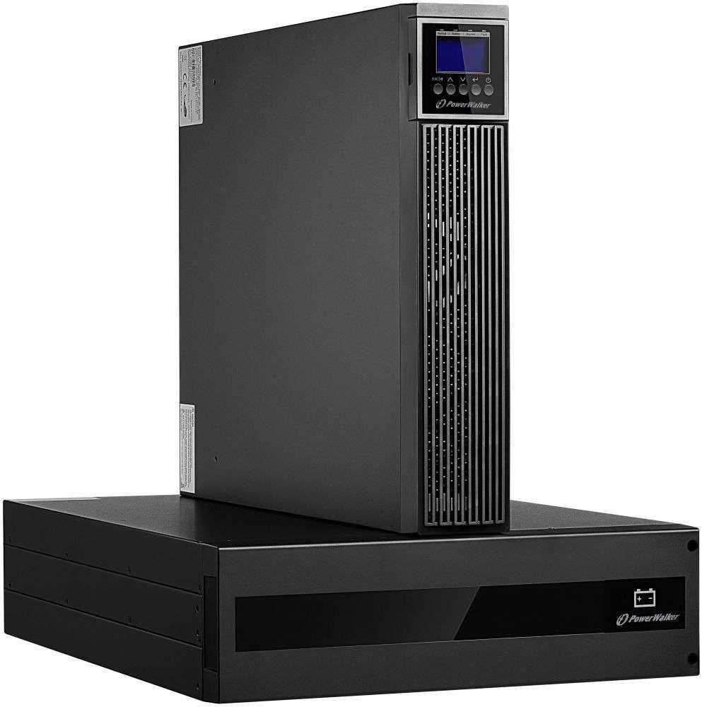 Zasilacz UPS rack 6kVA/6kW VFI 6000 RTG PF1 PowerWalker