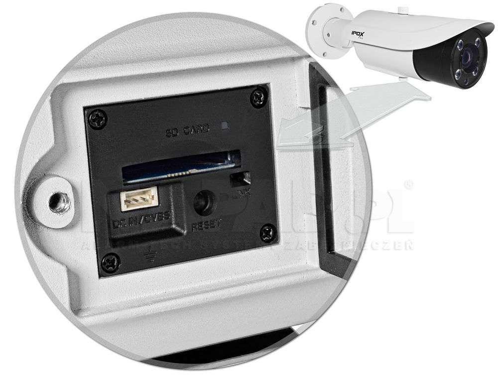 karta micro sd w kamerach ipox px-tzip4025as-p