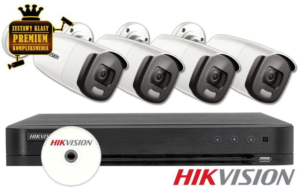 Zestaw do monitoringu IP ZMTVI-HIK4KB20/CV (2MPX) HikVision