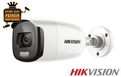 4x Kamera TurboHD TVI tubowa ColorVU (4MPX)