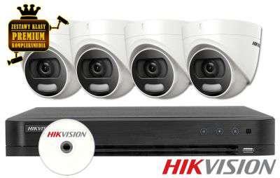 Zestaw do monitoringu IP ZMTVI-HIK4KD20/CV (2MPX) HikVision