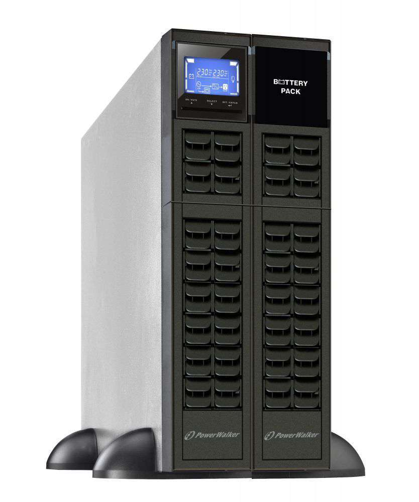 2w1 Zestaw zasilania awaryjnego UPS VFI 3000 CRM LCD + BP A72R-12x9Ah (10134015)