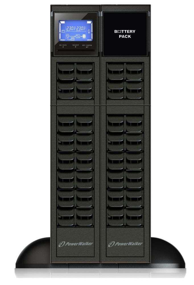 2w1 Zestaw zasilania awaryjnego UPS VFI 1000 CRM LCD + BP A24R-4x9Ah (10134013)