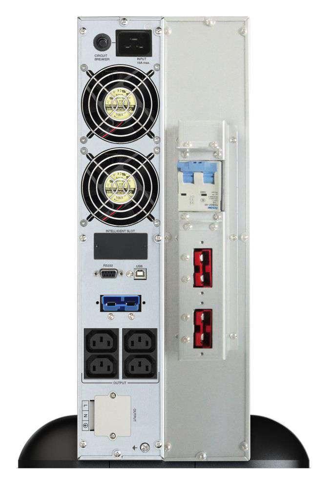 2w1 Zestaw zasilania awaryjnego UPS VFI 3000 CRS LCD + BP A72R-12x9Ah (10134015)