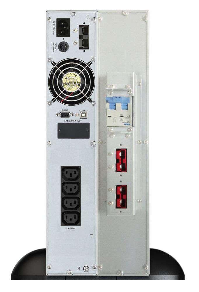 2w1 Zestaw zasilania awaryjnego UPS VFI 2000 CRS LCD + BP A48R-8x9Ah (10134014)