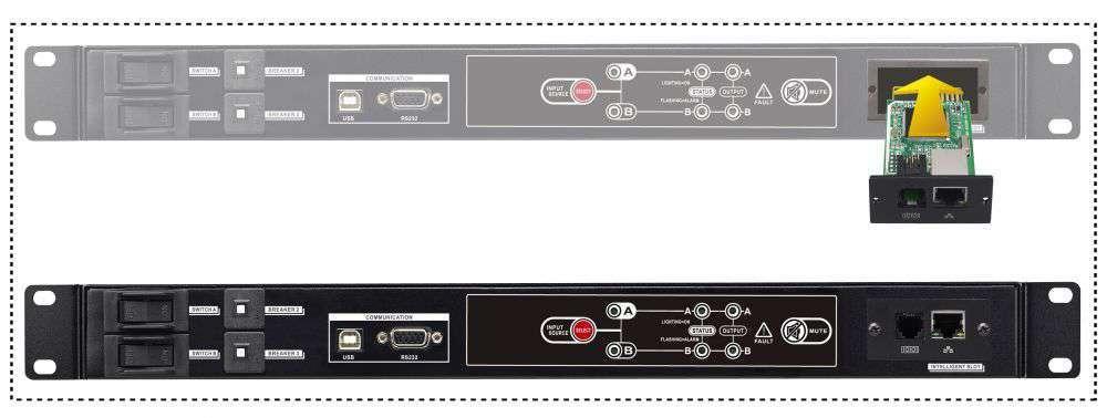 SNMP manager kontroler sposób podłączenia