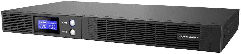 Zasilacz UPS rack 1000VA/600W VI 1000 R1U PowerWalker
