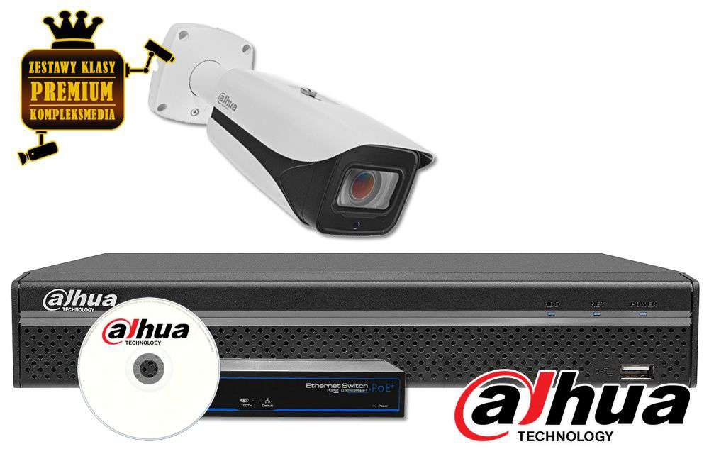 Zestaw do monitoringu IP ZMIP-DAH1KB120/MTZ (12MPX) DAHUA