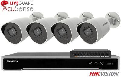 Zestaw do monitoringu IP ZMIP-HIK4KB80/IR50 (8MPX) HikVision