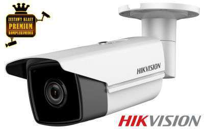 4x Kamera IP tubowa EXIR (4MPX)