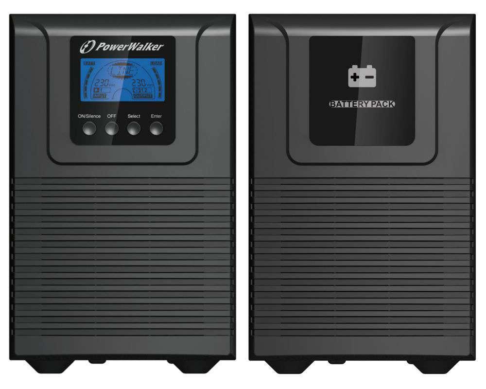 2w1 Zestaw zasilania awaryjnego UPS VFI 1000 TGB + BP S24T-6x9Ah (10134031)