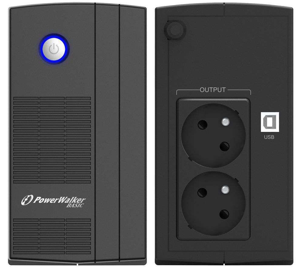 Zasilacz UPS awaryjny 850VA/480W VI 850 SB FR PowerWalker